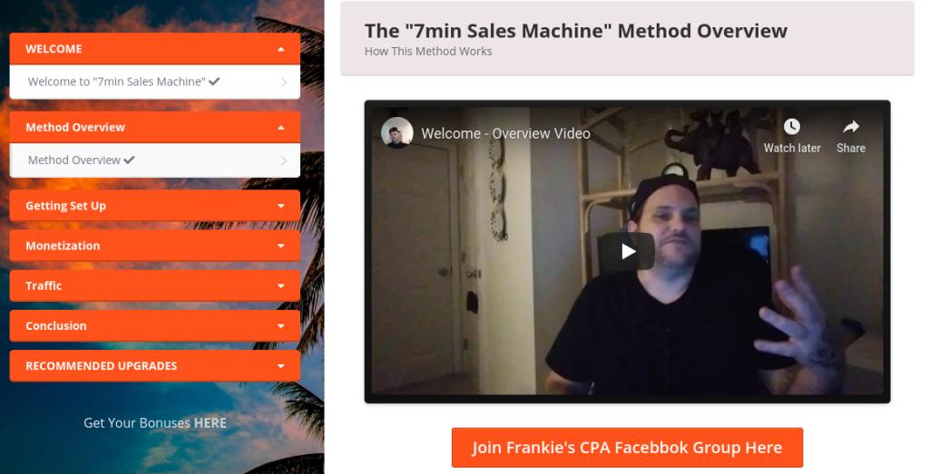 7Min Sales Machine Review