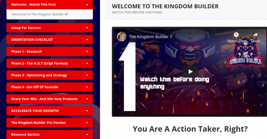 The Kingdom Builder Review