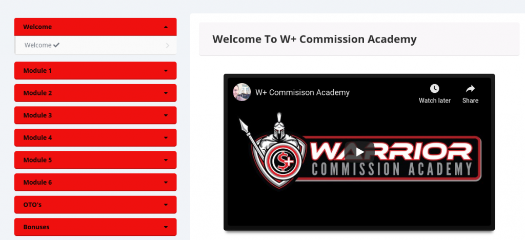 Warrior Commission Academy Review
