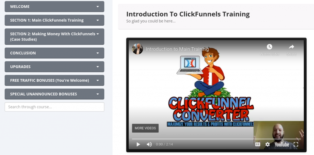 ClickFunnel Converter Review