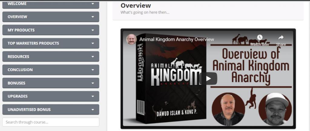Animal Kingdom Anarchy