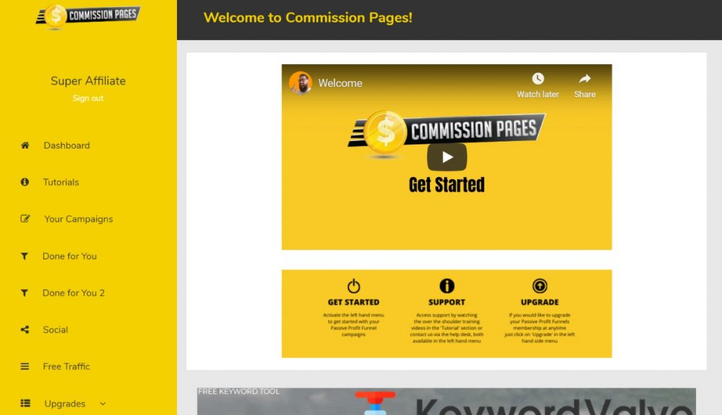 Commission Pages Review