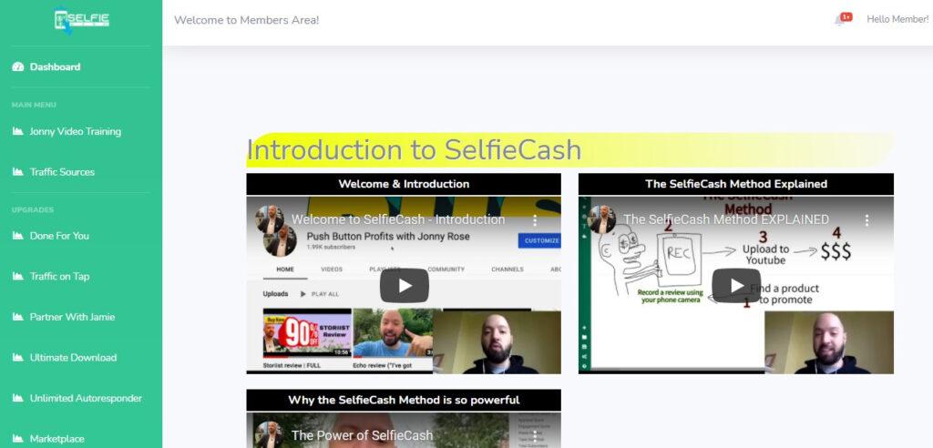 Selfie Cash Review